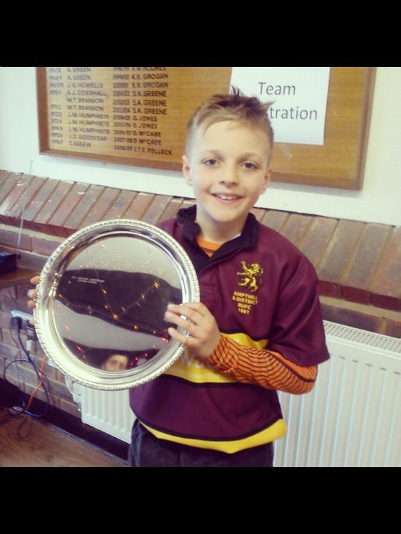 Ampthill U11's  'B' Team Joint Beds Cup Winners