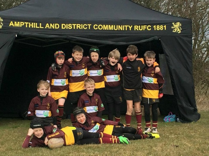 Ampthill U9's – Beds Cup – Runners Up 2015
