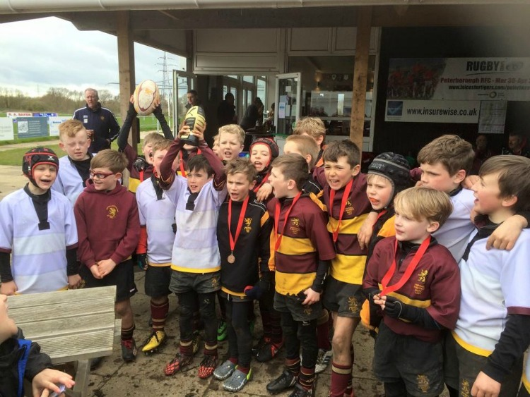 Ampthill  U9s  Peterborough Festival 2014 – 2015
