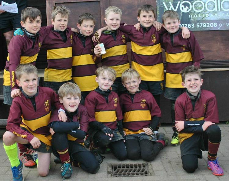 Ampthill U9s Holt Champions 2014 – 2015