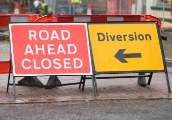 Visitors To Ampthill, A507 Closure, Sat Oct 17th