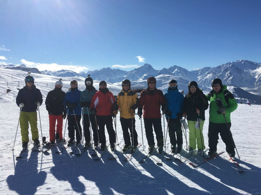 U16s 2016 Dads & Lads Ski Trip to Alpe D'Huez in France