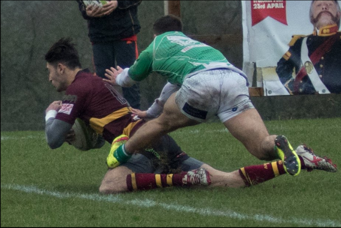 Elliot Clements-Hill Scores Out Wide