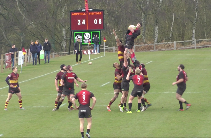 Hartpury 49 1stXV 14, Match Report