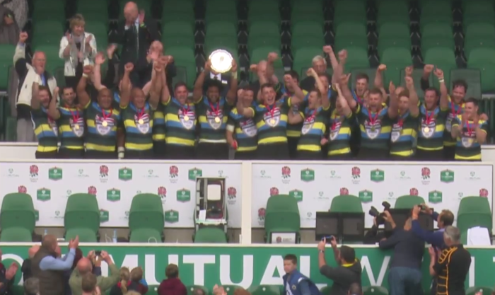 East Midlands 33 Kent 27, County Plate Final