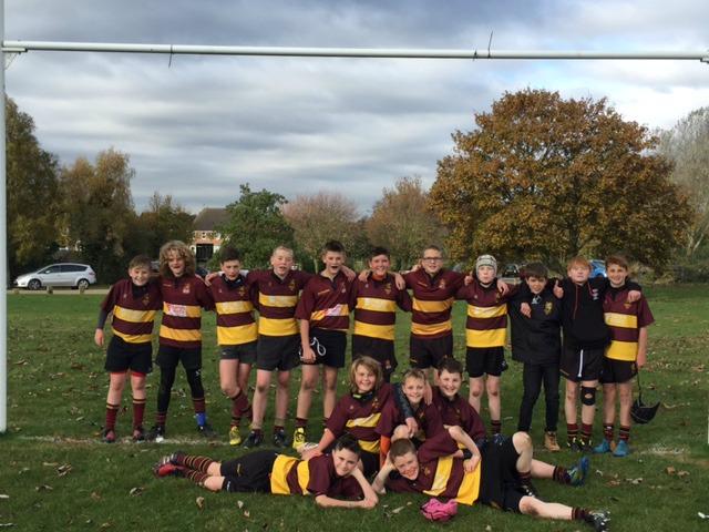 U13  Rushden & Higham 15  – 30  Ampthill