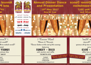 2017 Annual Dinner Dance & Player awards Evening