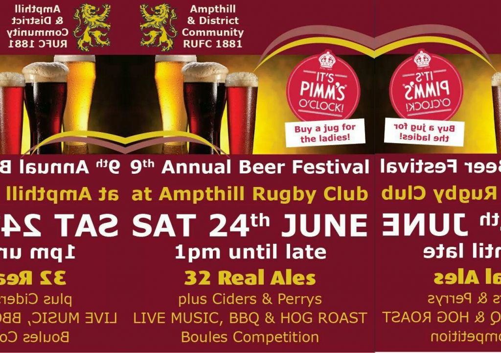 9th Annual Beer Festival June 24