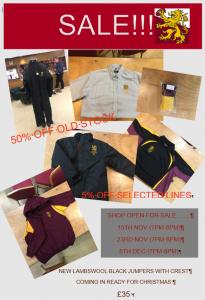 Shop Sale Autumn 2017