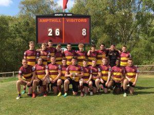 U18s winning Beds Cup 2017