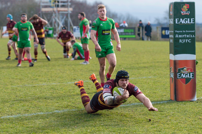 1stXV 33 Plymouth Albion 28 , Sat Mar 10, 2018, National 1