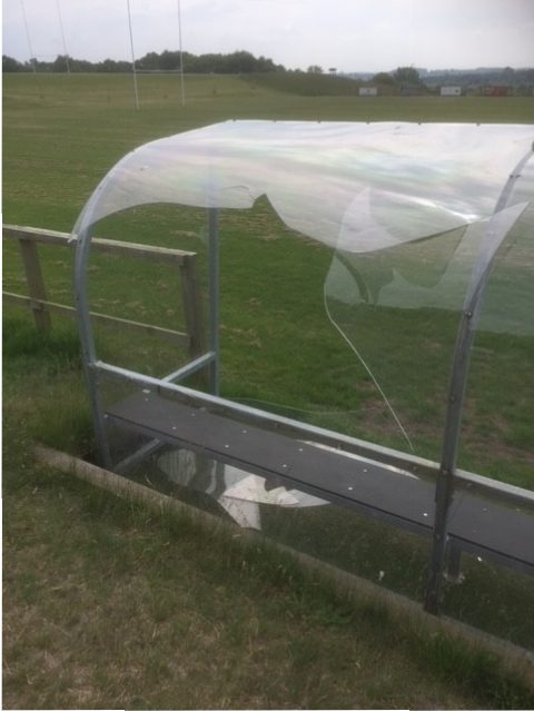 Ampthill Rugby Club Vandalised, Reward For Information