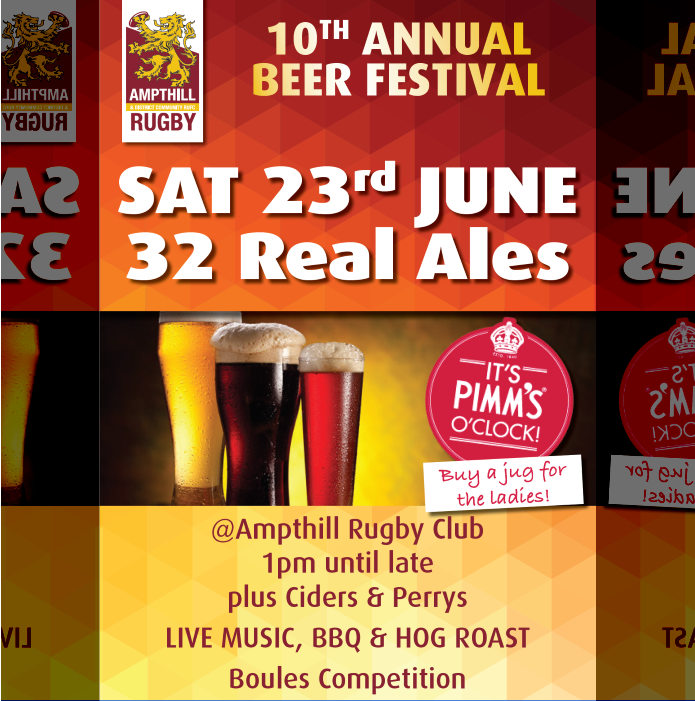 10th Annual Beer Festival, Sat June 23, 2018