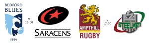 A Festival Of Rugby – Ampthill, Bedford, Ebbw Vale, Saracens – Sat Aug 18
