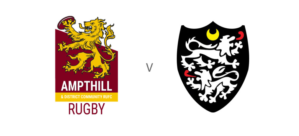 Ampthill Rugby vs Caldy (Re-arranged) @ Dillingham Park