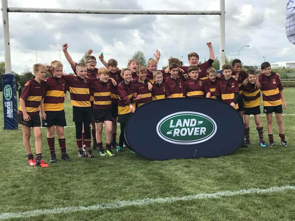 Ampthill U12's success at the Northampton Saints tournament – Sat 15th Sept 2018