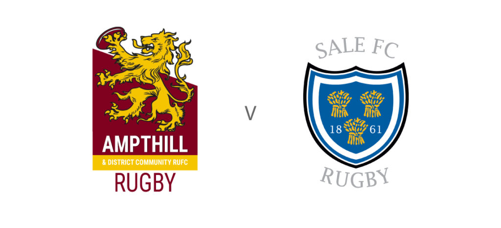 Ampthill Rugby vs Sale @ Dillingham Park