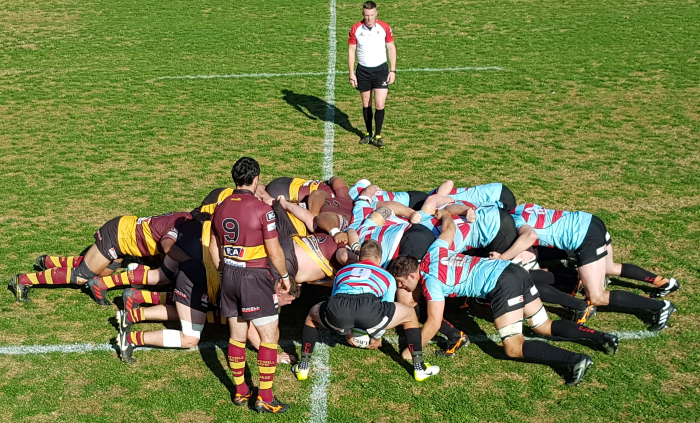 Ampthill v Blackheath, Blackheath Scrum