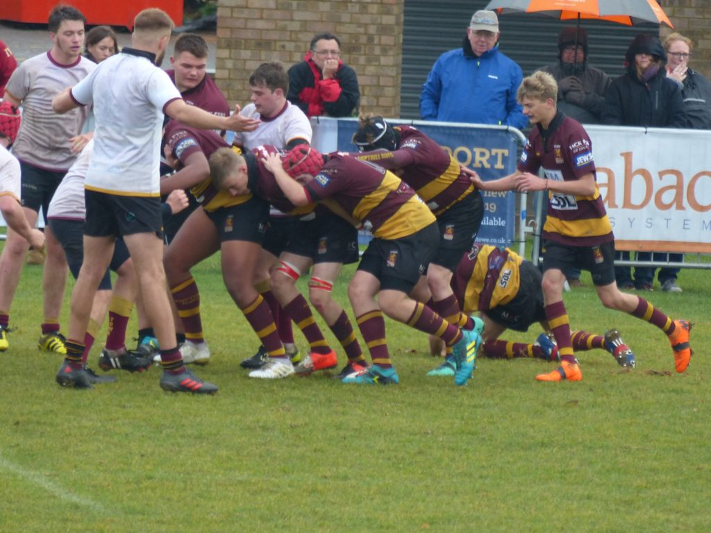 Towcestrians 10 – 83 Ampthill Academy A – Saturday 6th October 2018