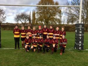 Olney RUFC U13's Development v Ampthill RUFC Tigers – Sunday 11th November