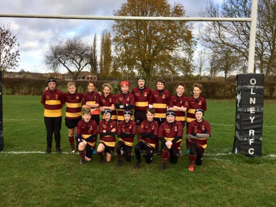 Olney RUFC U13's Development v Ampthill RUFC Tigers – Sunday 11th November