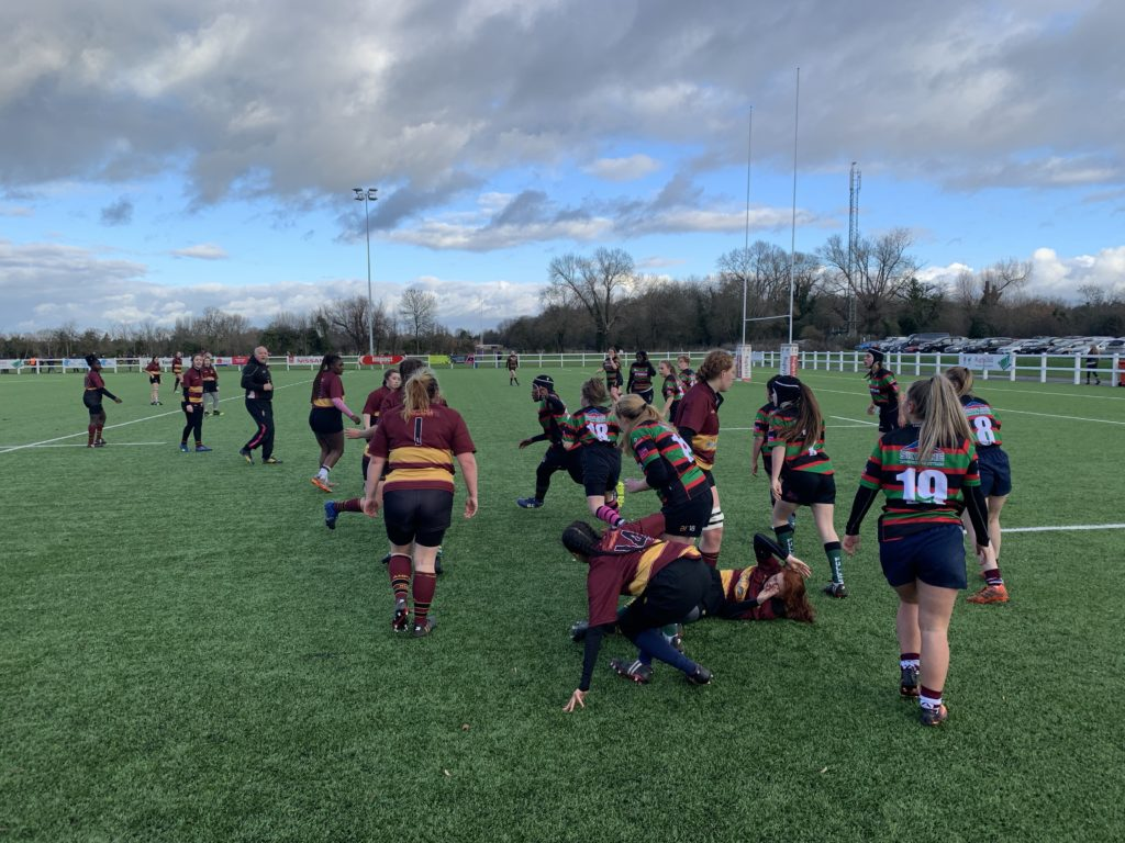 Fullerians Girls v Ampthill Girls – Sunday 9th December 2018