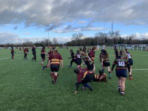 Fullerians Girls v Ampthill Girls – Sunday 9th December 2018