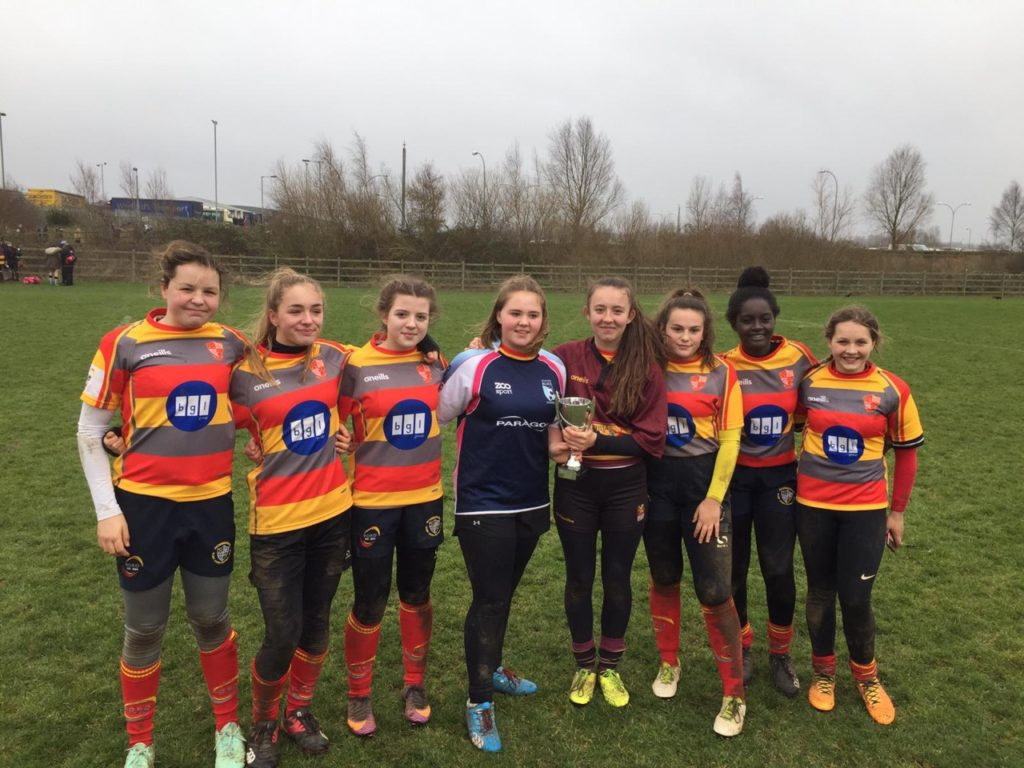 U15 Girls attend Northampton Saints Festival – Saturday 26th January 2019