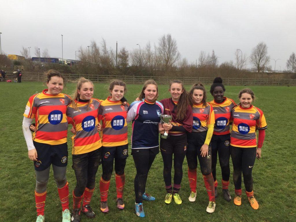 U15 Girls attend Northampton Saints Festival – Saturday 26th January 2019