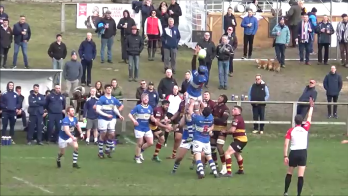 1stXV 34 Bishops Stortford 24, Sat Feb 16, 2019, National 1