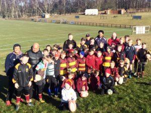 Paul Turner Ampthill Rugby Camp– April 2019