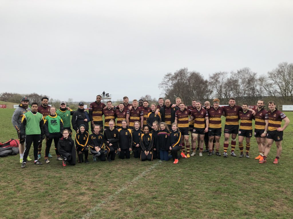 Ampthill Girls teams provide ball girls for First XV – Saturday 10th March 2019