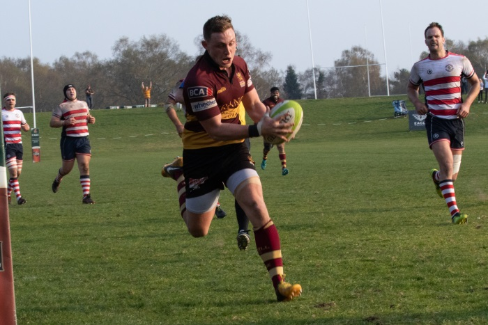 1stXV 21 Rosslyn Park 20, Sat March 30, 2019, National 1