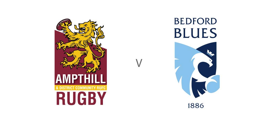 Ampthill Rugby vs Bedford Blues @ Dillingham Park