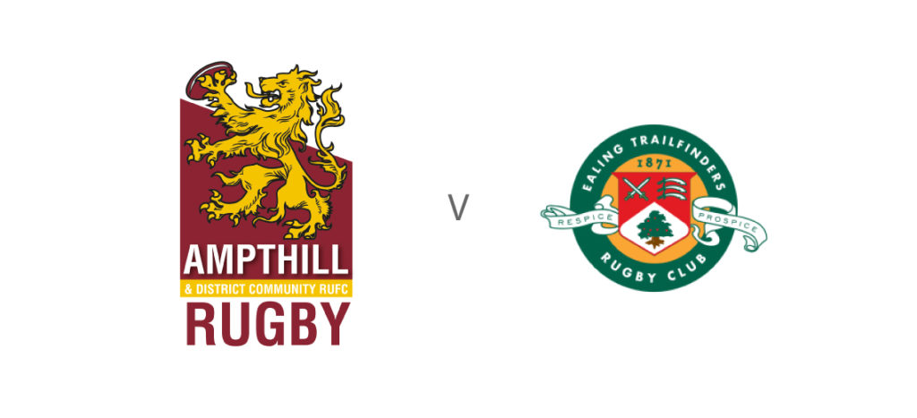 1st XV v Ealing Trailfinders – Sat 7th Dec, Kick Off 1.45pm
