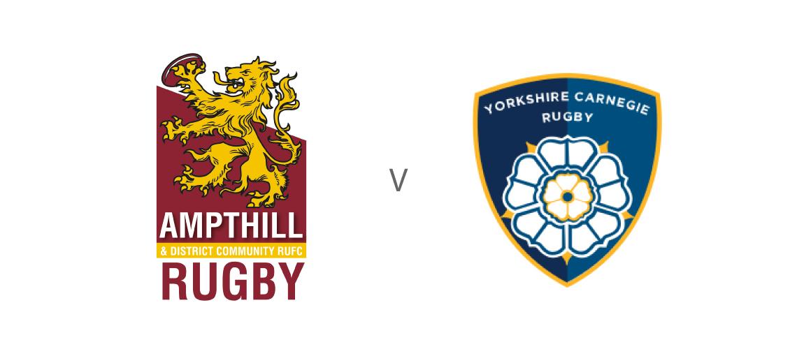 Ampthill Rugby vs Yorkshire Carnegie @ Dillingham Park
