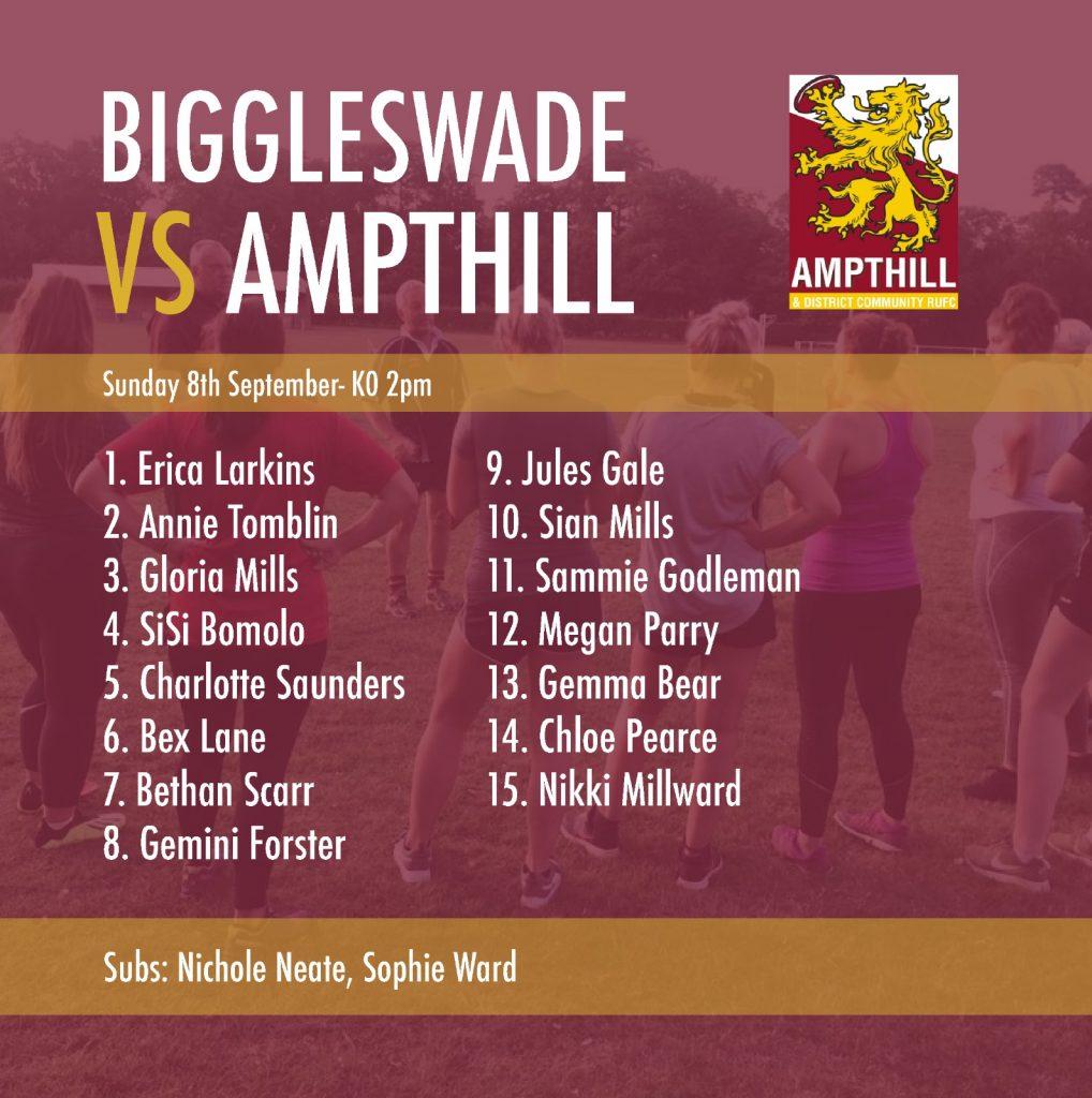 Ampthill Ladies – 1st Fixture