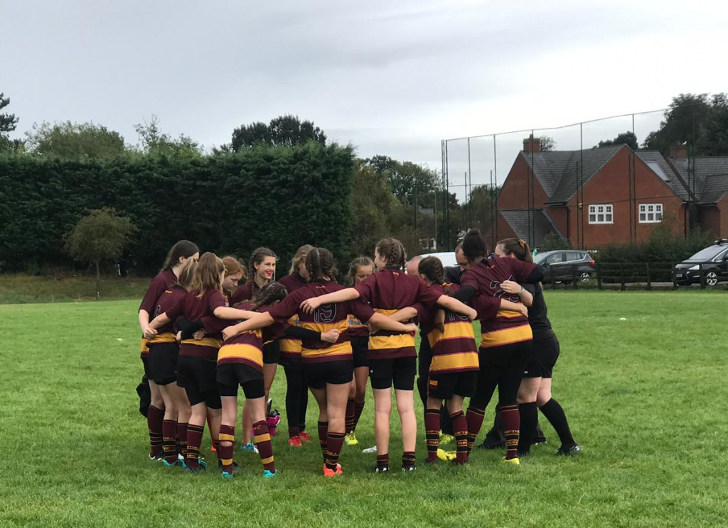 Start of the U13 Girls Season – Sunday 22nd September 2019