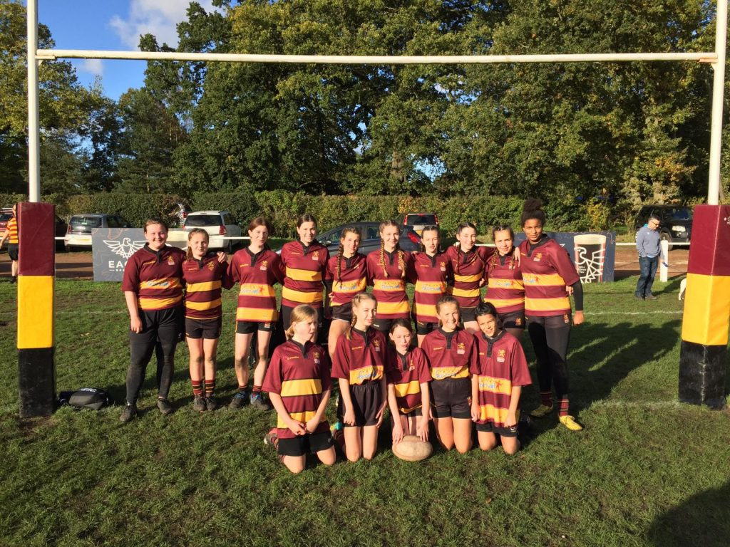 Ampthill Girls U13's v Combined Bedford/Olney Girls U13's – Sunday 27th October 2019