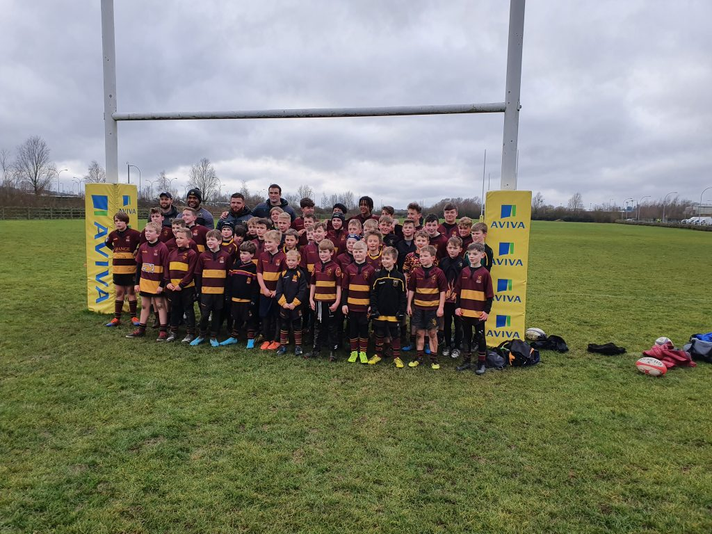 Ampthill Mini & Youth are 'Club of the Match' at Northampton Saints – 28th December 2019