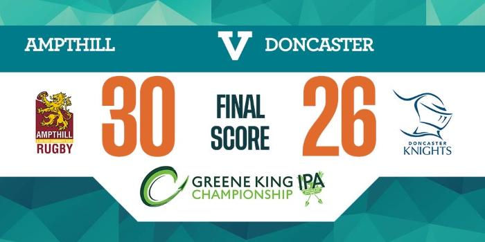 1stXV 30 Doncaster 26, Sat Jan 25, 2020, Championship