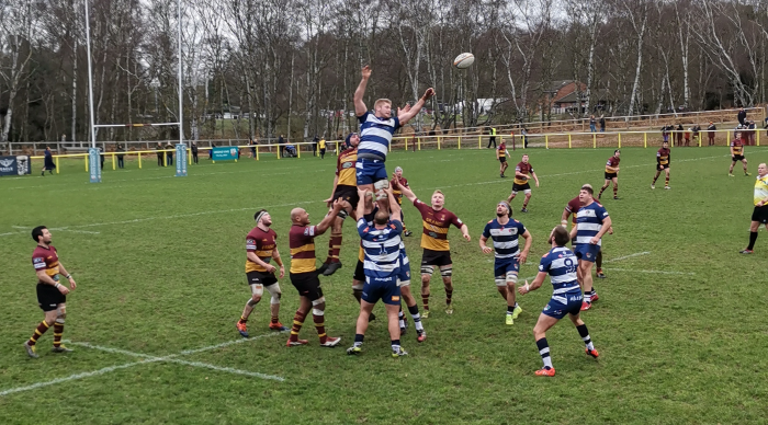 Ampthill v Coventry - Coventry Lineout