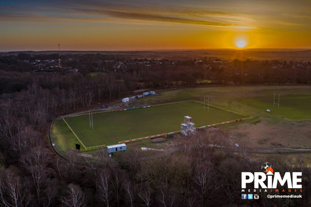 Grange Bowl – an aerial view!