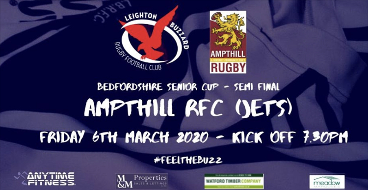 Jets in Bedfordshire Cup Semi-Final!
