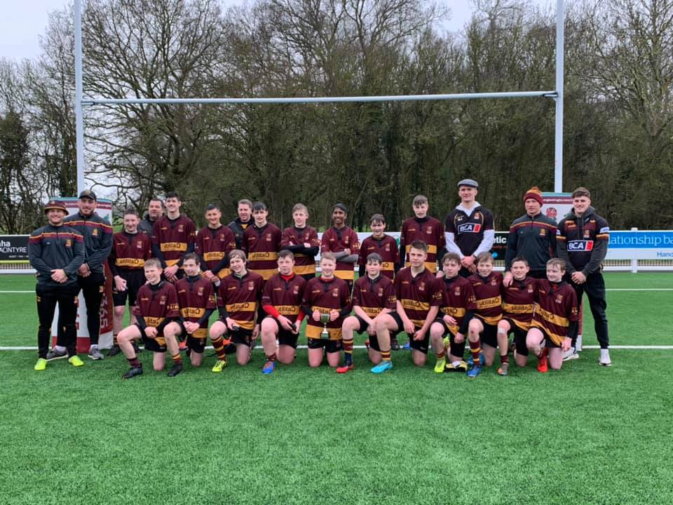 Ampthill RUFC U14's – East Midlands Cup Winners!
