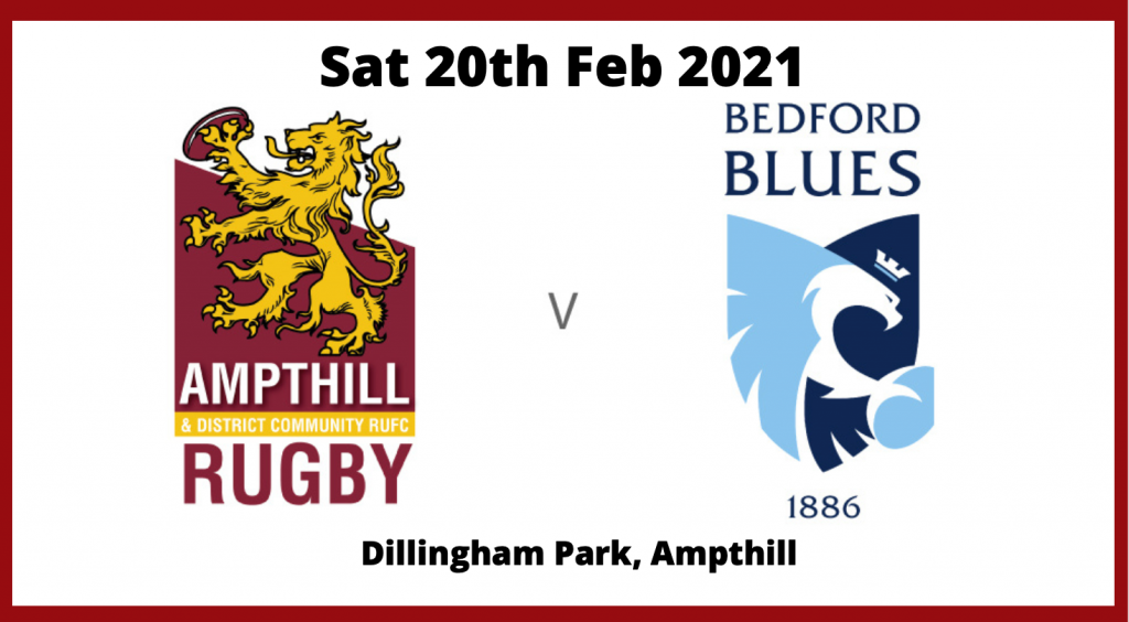 Ampthill v Bedford Blues 20/02/21 Match Highlights