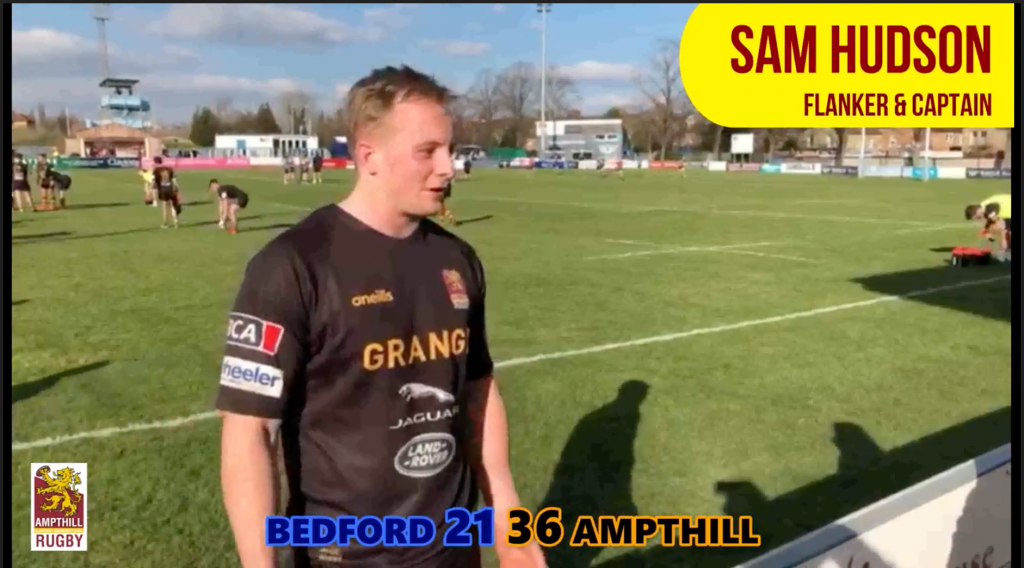Sam Hudson & Paul Turner Interviews at Bedford