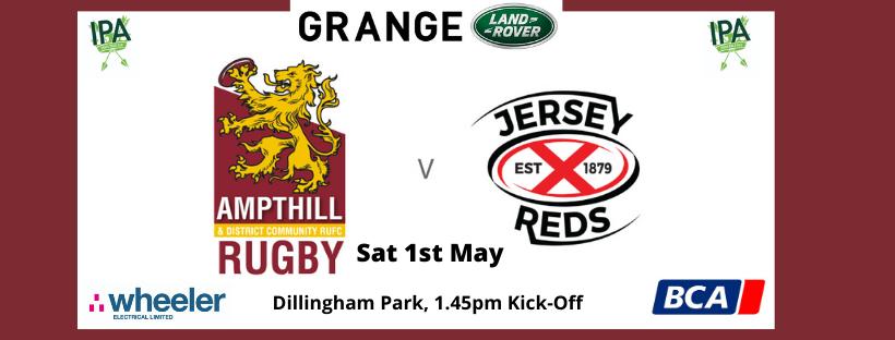 Match Report: 1st XV 14 v 29 Jersey Reds, Sat 1st May