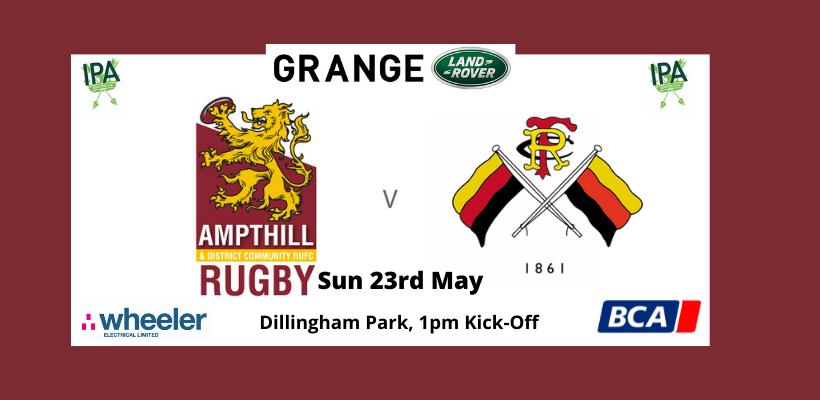 Match Preview: Ampthill v Richmond FC 21/05/21