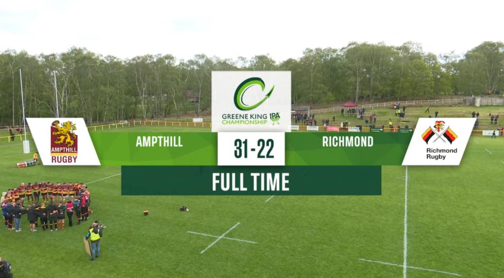 Highlights: 1st XV v Richmond 23/05/21
